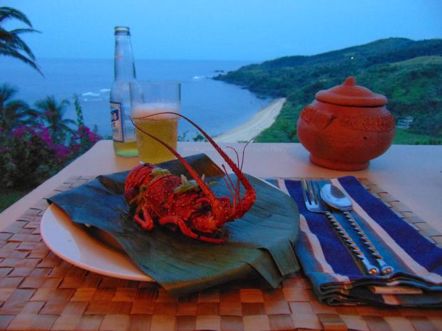 Alon Surf Stay Resort, Lobster