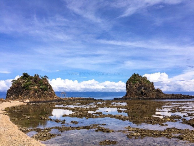 Diguisit Rock formation, Baler, Aurora