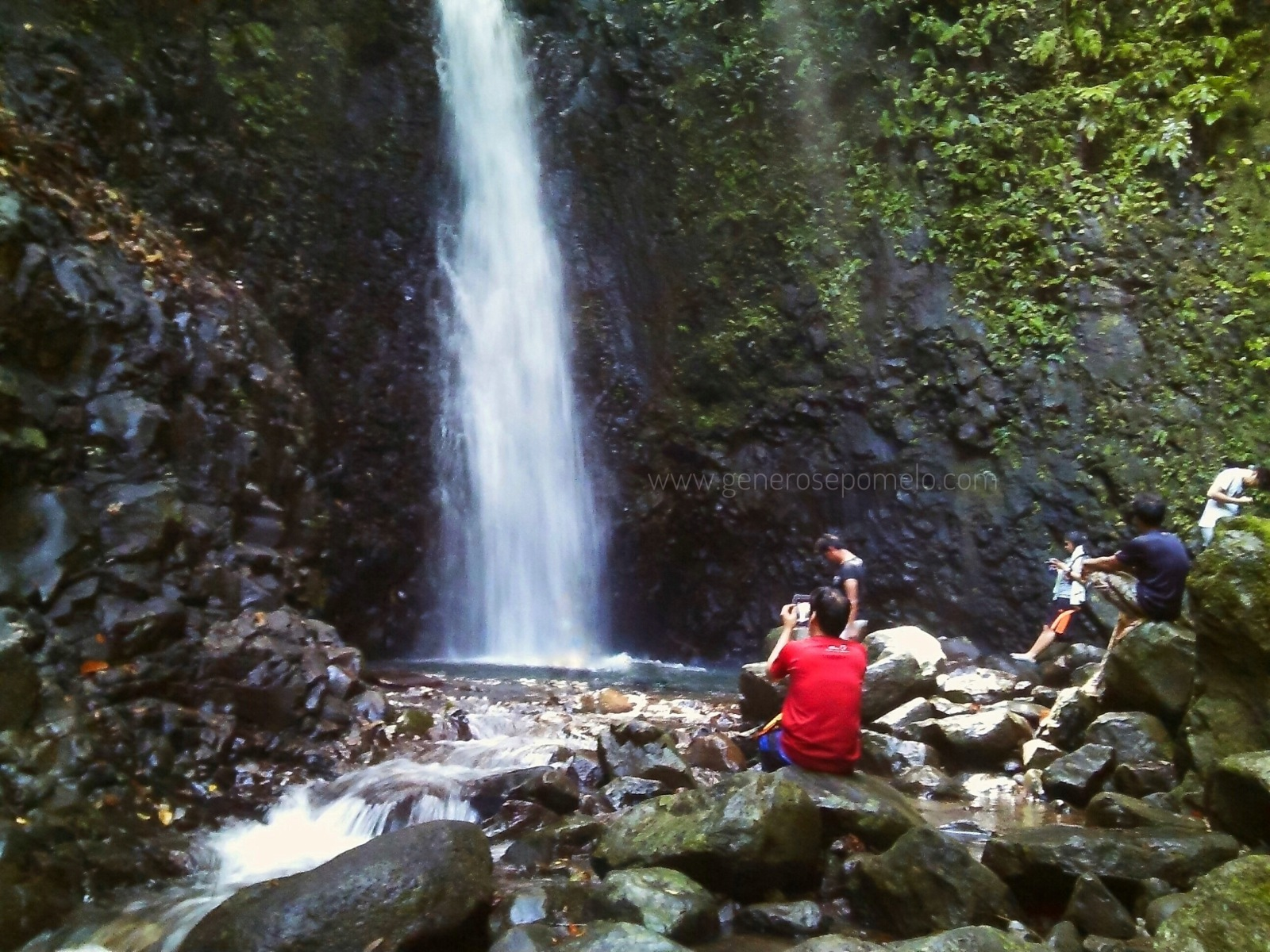 Lanzonez Falls, Mt. Romelo, Buruwisan Falls