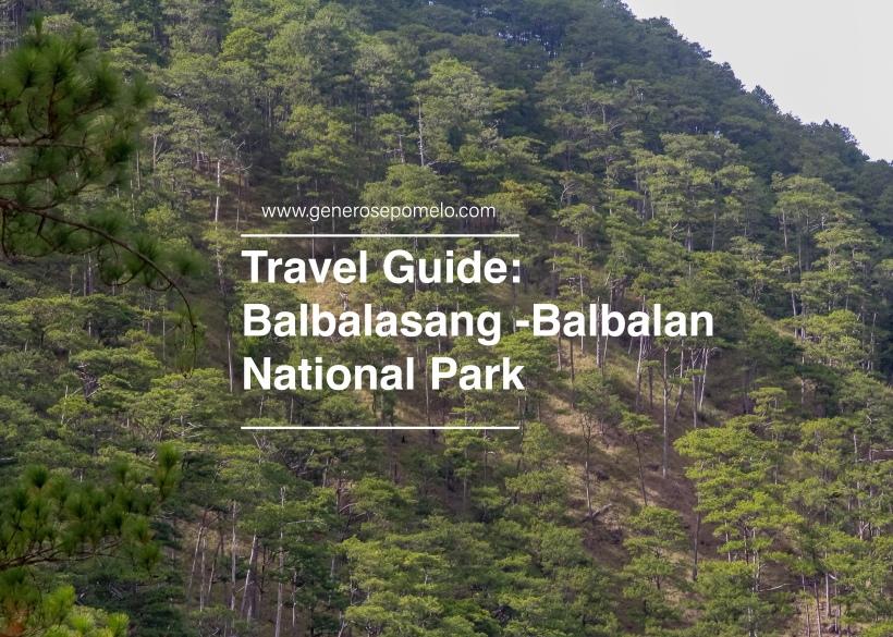 Balbalasang Balbalan National Park