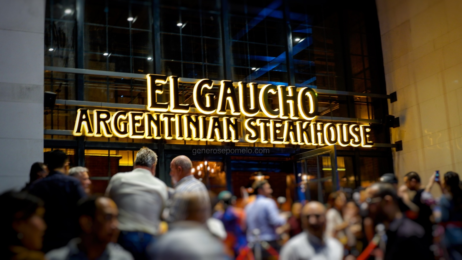El Gaucho Argentinian Steakhouse, Makati City, Philippines,