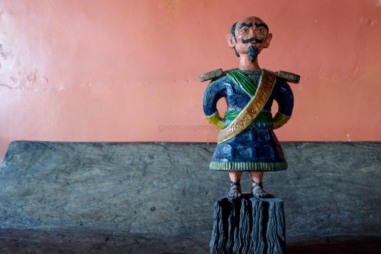Higante Sculpture at Balaw Balaw Restaurant and Art Gallery Angono Rizal