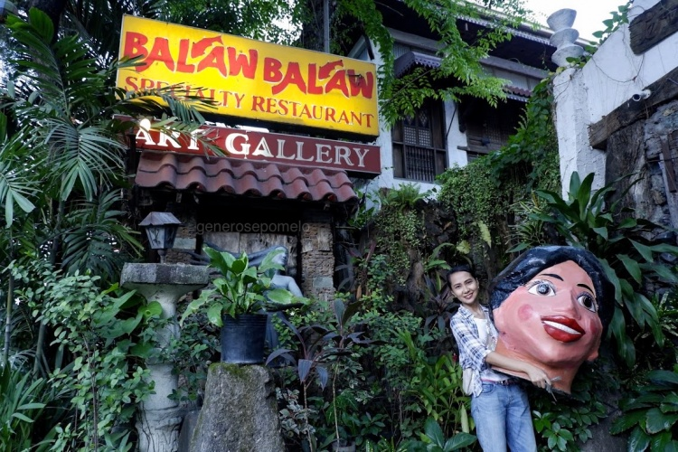 Balaw Balaw Restaurant and Art Gallery, Perdigon Vocalan, Higantes, Angono Rizal